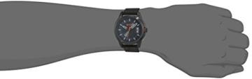 Hugo Boss Orange Hong Kong Herren-Armbanduhr Quartz Analog mit schwarzem Gewebe-Armband 1550003 - 2