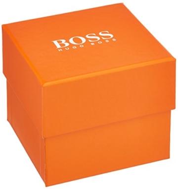 Hugo Boss Orange Hong Kong Herren-Armbanduhr Quartz Analog mit schwarzem Gewebe-Armband 1550003 - 3