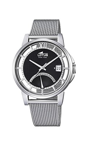 Lotus Herren Analog Uhr mit Edelstahl beschichtet Armband 18326/2 - 1