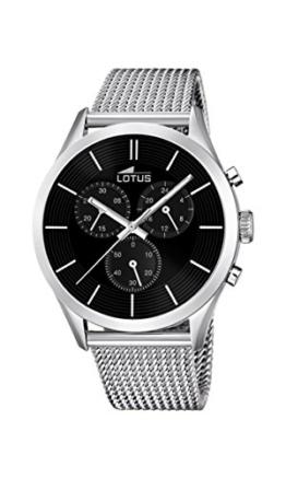 Lotus Herren-Armbanduhr Analog Quarz Edelstahl 18117/2 - 1