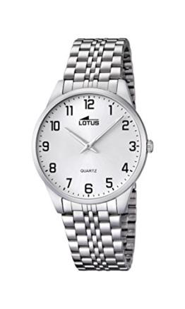 Lotus Herren-Armbanduhr XL Analog Quarz Edelstahl 15883/1 - 1