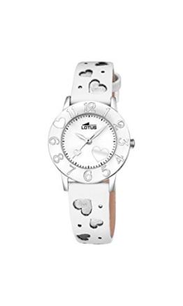Lotus Unisex Analog Quarz Uhr mit Leder Armband 18271/1 - 1