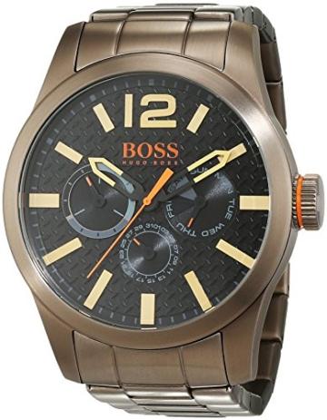 Boss Orange Men's Watch Paris Multieye Analogue Quartz Stainless Steel Coated 1513313 - 1