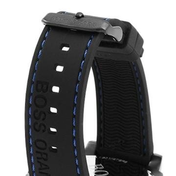 Hugo Boss Orange 1513242 Herren Armbanduhr, Quarz, mehrere Zähler auf dem Zifferblatt, Silikonarmband - 2