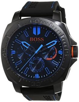 Hugo Boss Orange 1513242 Herren Armbanduhr, Quarz, mehrere Zähler auf dem Zifferblatt, Silikonarmband - 1