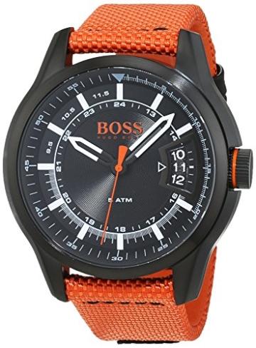 Hugo Boss Orange Hong Kong Herren-Armbanduhr Quartz Analog 1550001 - 1