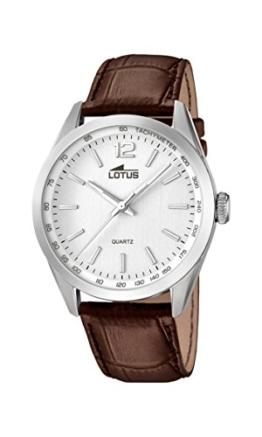 Lotus Herren Analog Quarz Uhr mit Leder Armband 18149/1 - 1