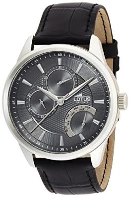 Lotus Herren-Armbanduhr Analog Quarz Leder 15974/4 - 1