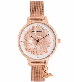 Blumenkind Damen Armbanduhr - Houston Milanaise 04091981RWHSSRO - 1