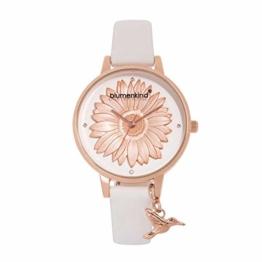 Blumenkind Damenarmbanduhr Roségold/Weiß 04091981RWHPWH - 1