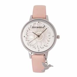 Blumenkind Damenarmbanduhr Silber/Kirschblüte 04091981SWHPRO - 1