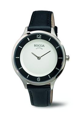Boccia Damen-Armbanduhr Analog Quarz Leder 3249-01 - 1
