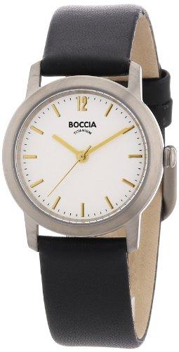 Boccia Damen-Armbanduhr Leder 3291-02 - 1