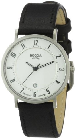 Boccia Damen-Armbanduhr Mit Lederarmband Dress 3296-01 - 1