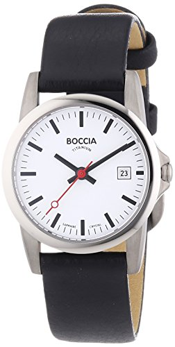 Boccia Damen-Armbanduhr XS Analog Quarz Leder 3298-04 - 1