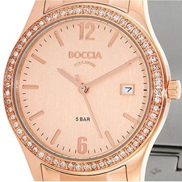 Boccia Damen-Armbanduhr XS Analog Quarz Titan 3235-01 - 2