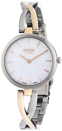 Boccia Damen-Armbanduhr XS Analog Quarz Titan 3239-02 - 1