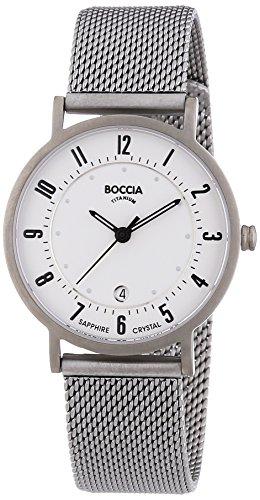 Boccia Damen-Armbanduhr XS Analog Quarz Titan 3296-02 - 1