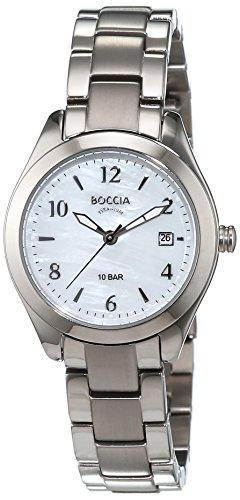 Boccia Damen-Armbanduhr XS Analog Quarz Titan 3300-01 - 1