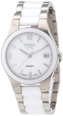 Boccia Damen-Armbanduhr XS Ceramic Analog Keramik 3189-01 - 1