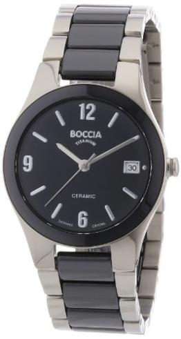 Boccia Damen-Armbanduhr XS Ceramic Analog Keramik 3189-02 - 1