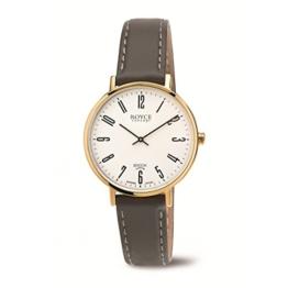 Boccia Damen Digital Quarz Uhr mit Leder Armband 3246-12 - 1