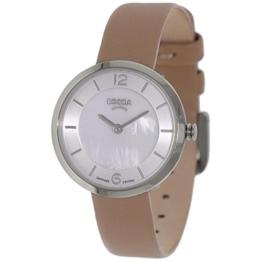 Boccia Damen Digital Quarz Uhr mit Leder Armband 3266-01 - 1