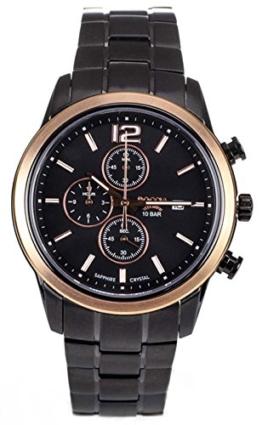 Boccia Herren-Armbanduhr Analog Quarz Titan 3759-04 - 1