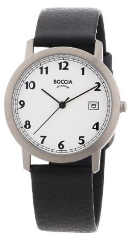 Boccia Herren-Armbanduhr Leder 3617-01 - 1