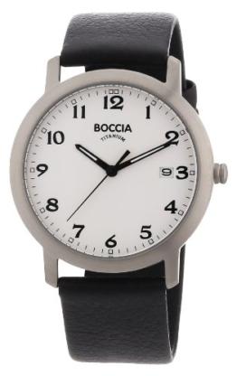 Boccia Herren-Armbanduhr Leder 3618-01 - 1