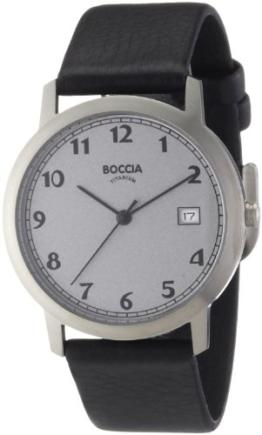 Boccia Herren-Armbanduhr Leder 510-92 - 1