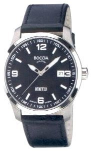 Boccia Herren-Armbanduhr Mit Lederarmband Sport 3626-02 - 1