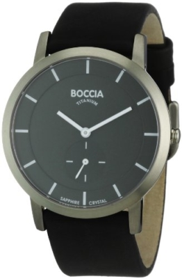Boccia Herren-Armbanduhr Mit Lederarmband Trend 3540-02 - 1