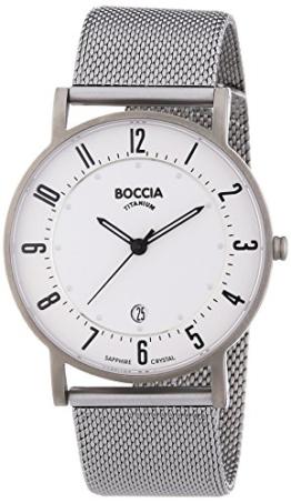 Boccia Herren-Armbanduhr XL Analog Quarz Titan 3533-04 - 1