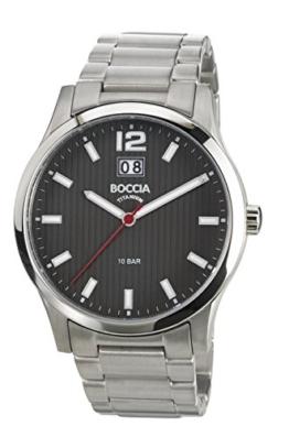 Boccia Herren-Armbanduhr XL Titanium Analog Quarz Titan 3580-02 - 1