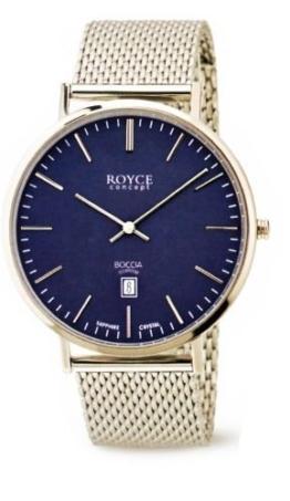 Boccia Herren Digital Quarz Uhr mit Edelstahl Armband 3589-13 - 1