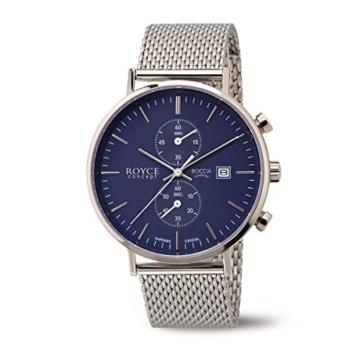 Boccia Herren Digital Quarz Uhr mit Edelstahl Armband 3752-05 - 1