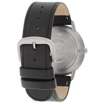 Boccia Herren Digital Quarz Uhr mit Leder Armband 3607-01 - 3