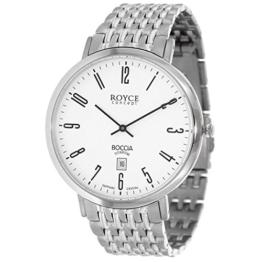 Boccia Herren Digital Quarz Uhr mit Titan Armband 3605-02 - 1