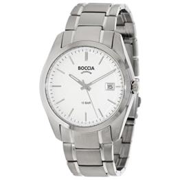 Boccia Herren Digital Quarz Uhr mit Titan Armband 3608-03 - 1