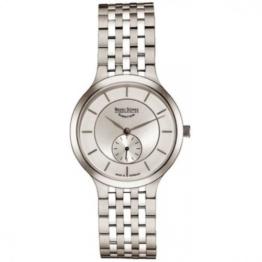 Bruno Söhnle Damen Analog Quarz Uhr mit Edelstahl Armband 17-13136-242 - 1
