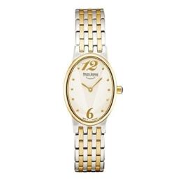 Bruno Söhnle Damen Analog Quarz Uhr mit Edelstahl Armband 17-23125-282 - 1