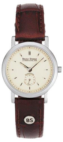 Bruno Söhnle Damen Analog Quarz Uhr mit Leder Armband 17-13035-141 - 1