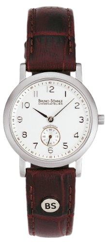 Bruno Söhnle Damen Analog Quarz Uhr mit Leder Armband 17-13035-221 - 1