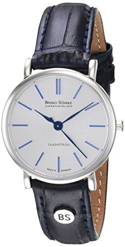 Bruno Söhnle Damen Analog Quarz Uhr mit Leder Armband 17-13045-243 - 1