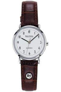 Bruno Söhnle Damen Analog Quarz Uhr mit Leder Armband 17-13045-921 - 1
