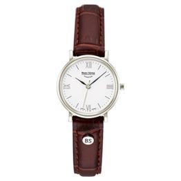 Bruno Söhnle Damen Analog Quarz Uhr mit Leder Armband 17-13045-971 - 1
