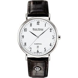 Bruno Söhnle Damen Analog Quarz Uhr mit Leder Armband 17-13085-921 - 1