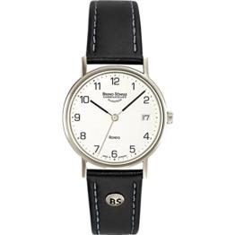 Bruno Söhnle Damen Analog Quarz Uhr mit Leder Armband 17-13106-221 - 1