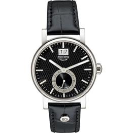 Bruno Söhnle Damen Analog Quarz Uhr mit Leder Armband 17-13144-741 - 1